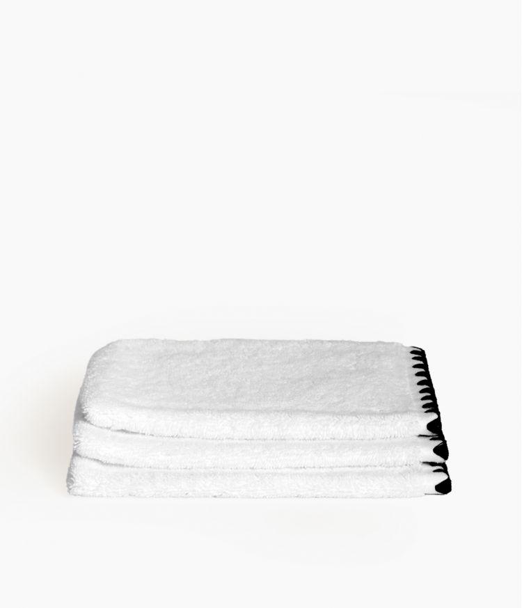 gant 15*21 blanc