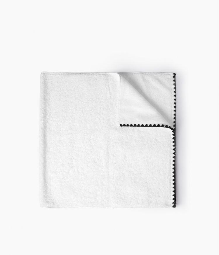 serviette bain 70*130 blanc