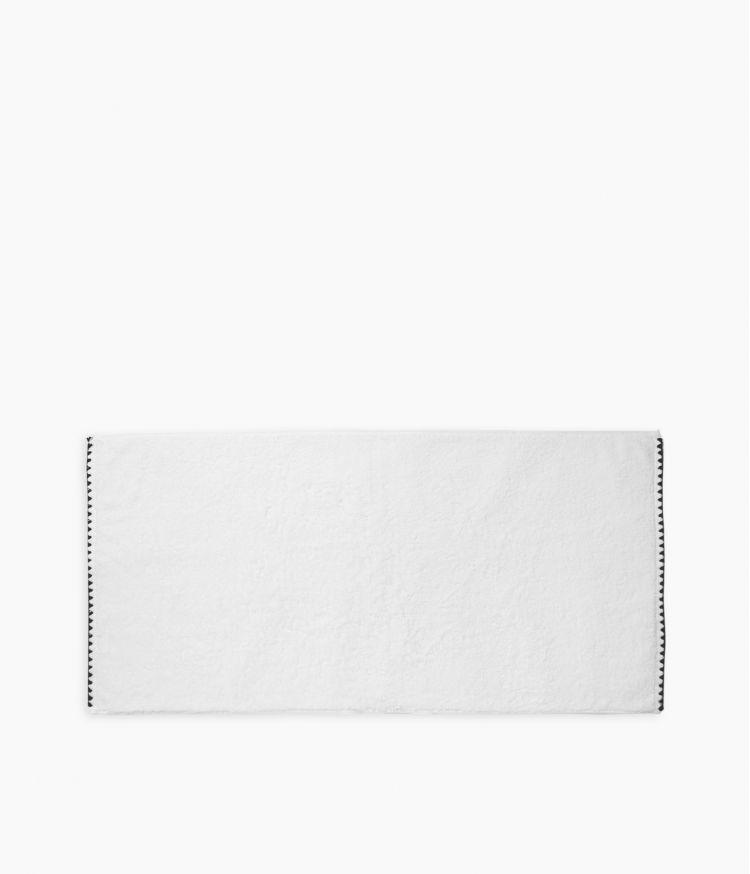 serviette bain 50*100 blanc