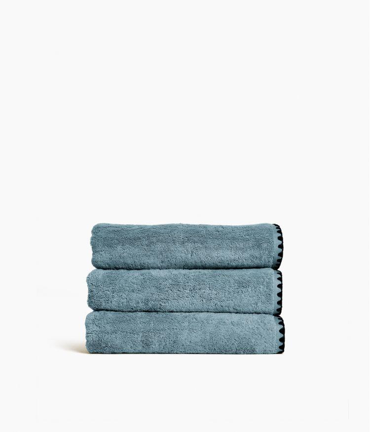 serviette bain 50*100 stone