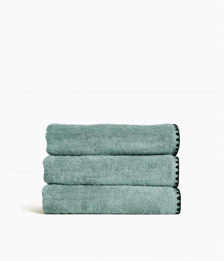 serviette bain 70*130 celadon