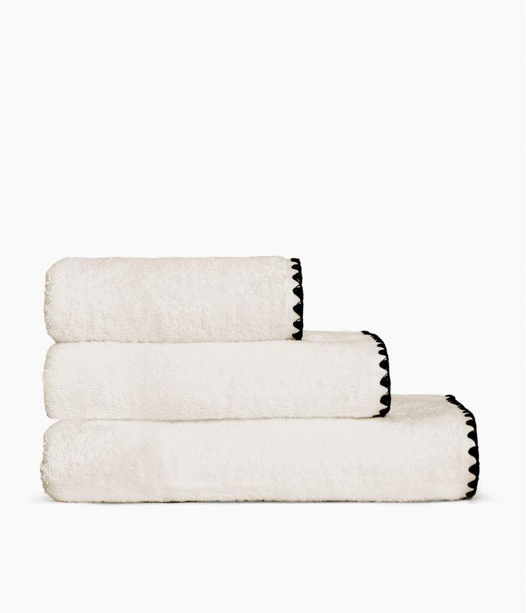 serviette bain 50*100 craie