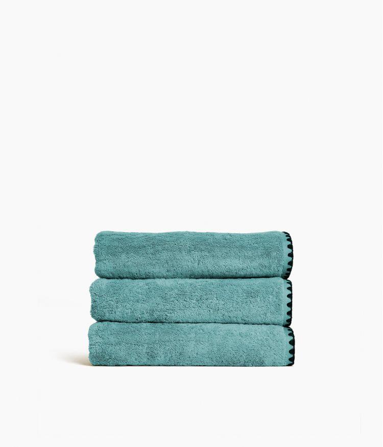 serviette bain 50*100 eucalyptus