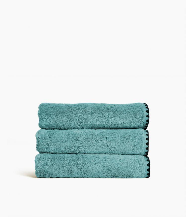 serviette bain 70*130 eucalyptus