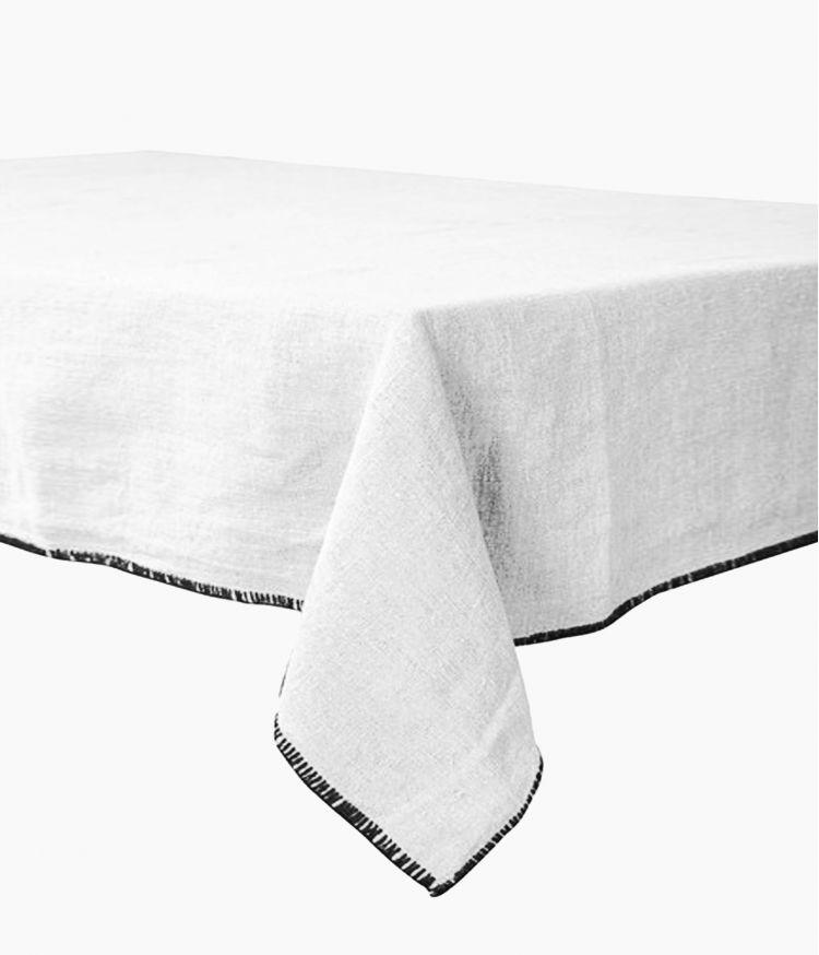 nappe rectangle 170*300 blanc