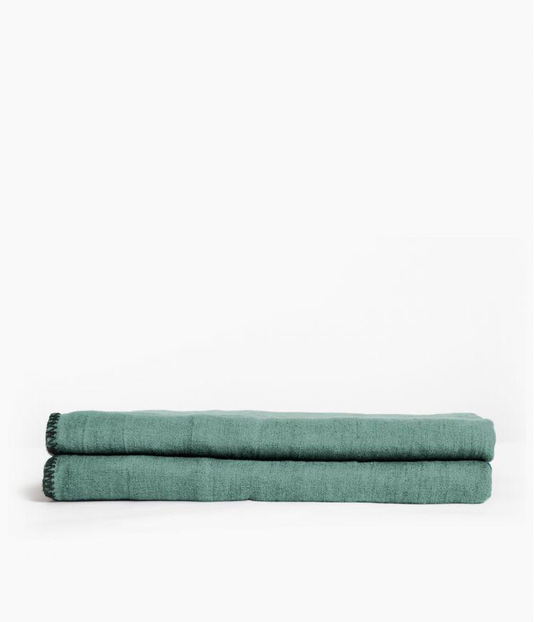 nappe rectangle 170*250 celadon
