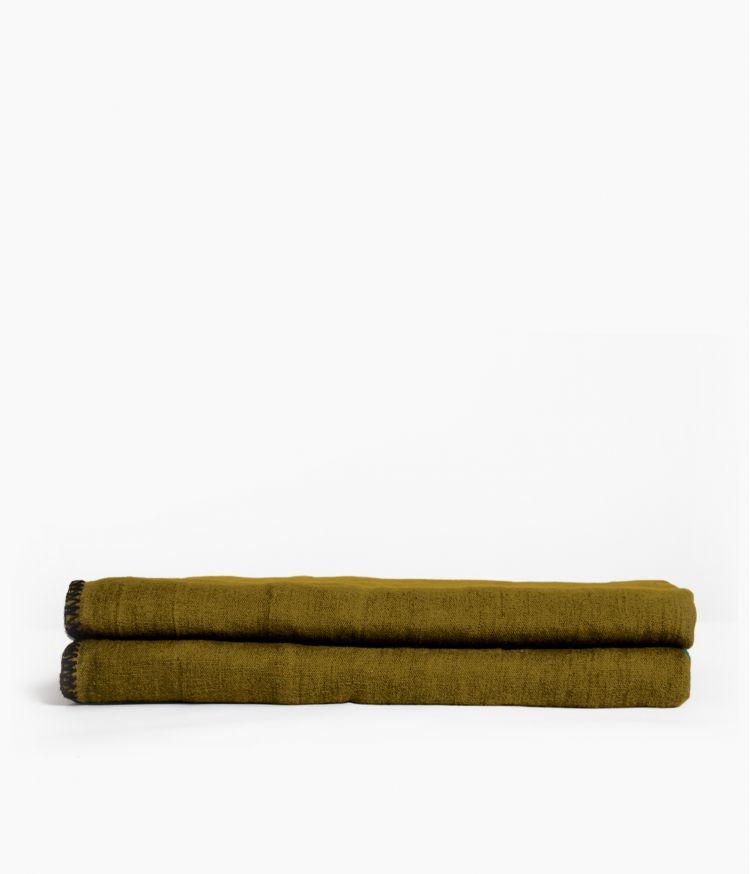 nappe carre 170*170 bronze