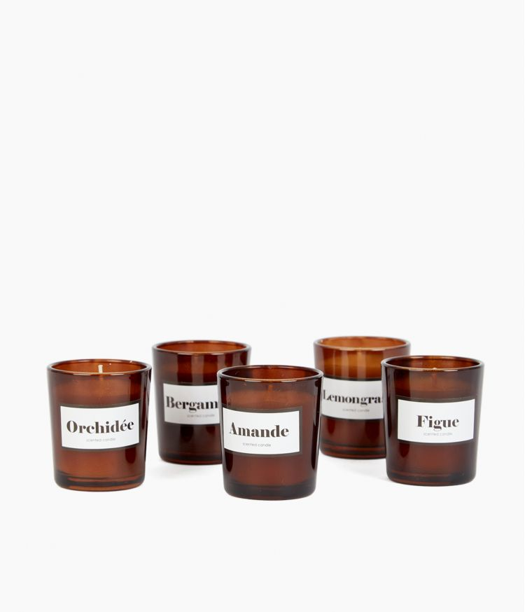 coffret 5 bougies intemporels