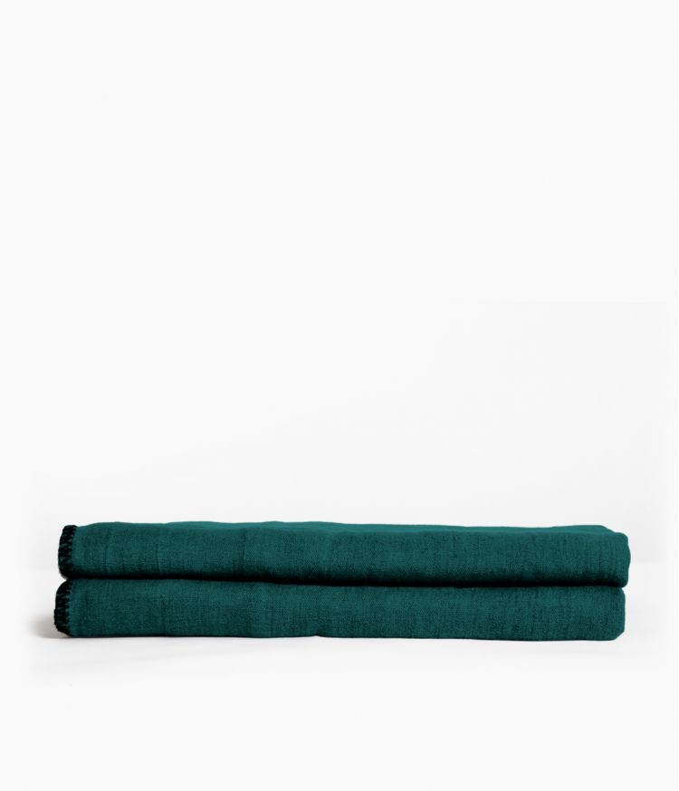 nappe rectangle 170*300 paon