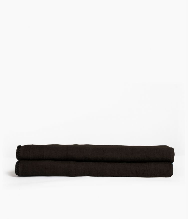 nappe rectangle 170*300 charbon
