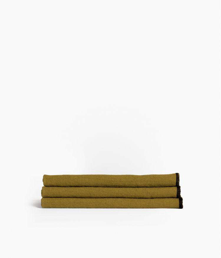serviette de table 41*41 bronze