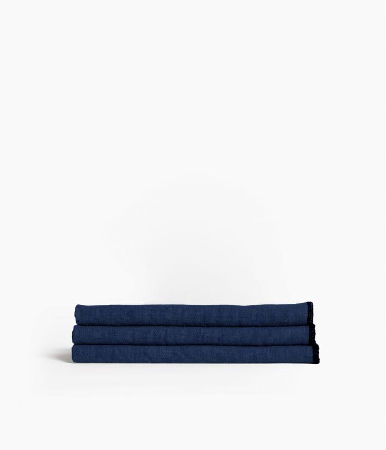 serviette de table 41*41 indigo