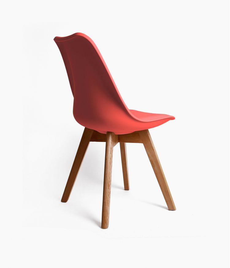 chaise 48*54,50*h84cm corail