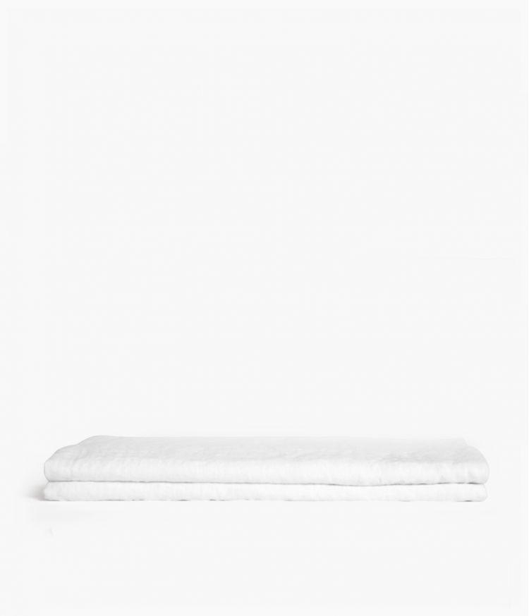 nappe carre 170*170 blanc
