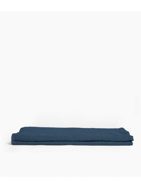 nappe rectangle 170*250  bleu de prusse
