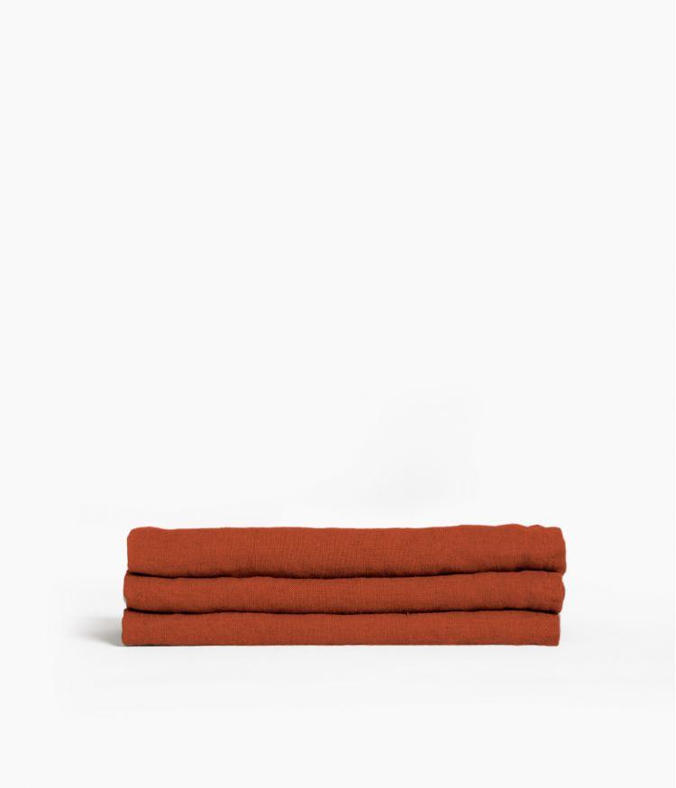 serviette de table 41*41 argile