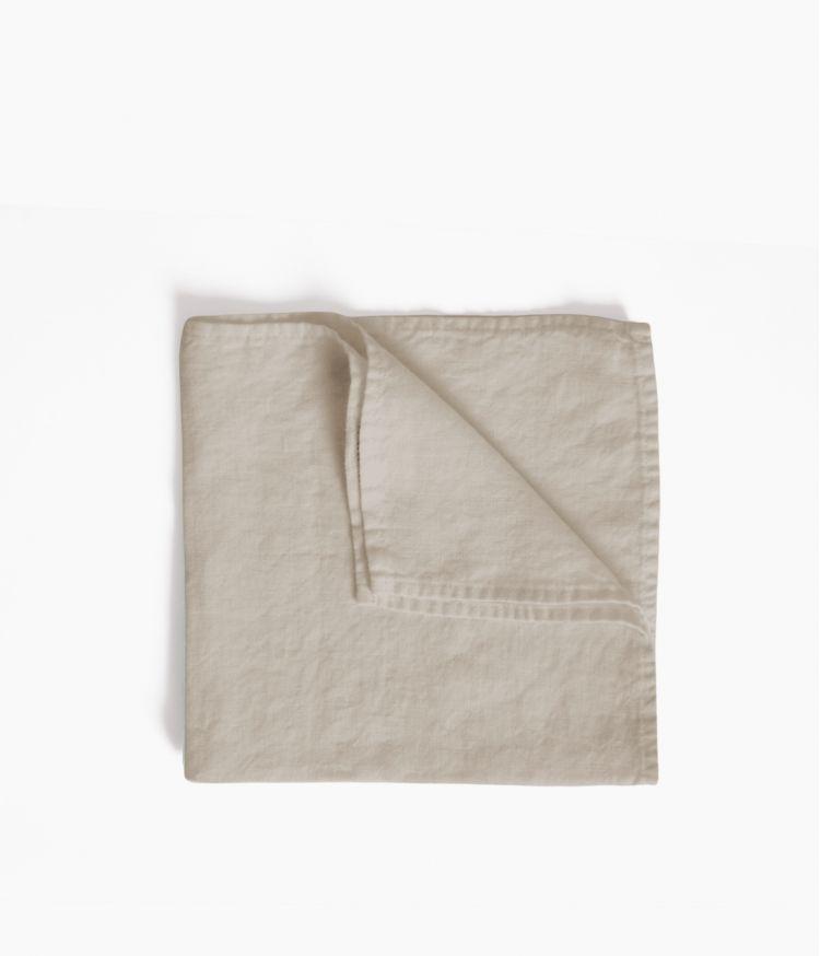 serviette de table 41*41 naturel
