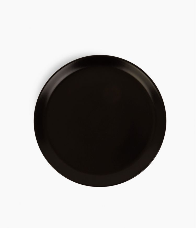 assiette plate itit noir 25cm