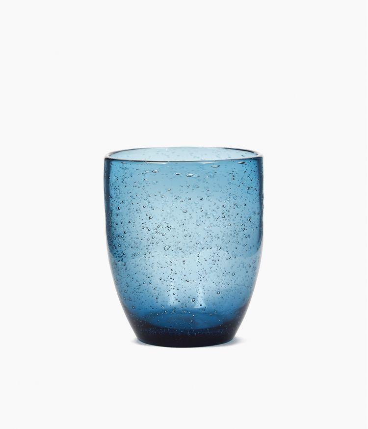 gobelet 35 cl artisan bullé bleu