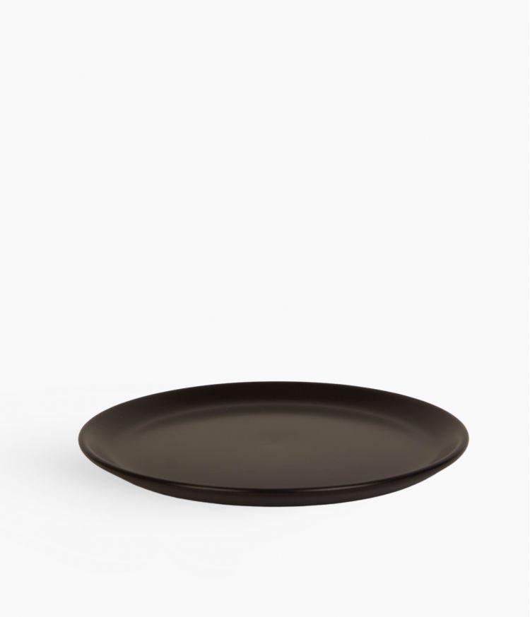 assiette dessert itit noir 20cm