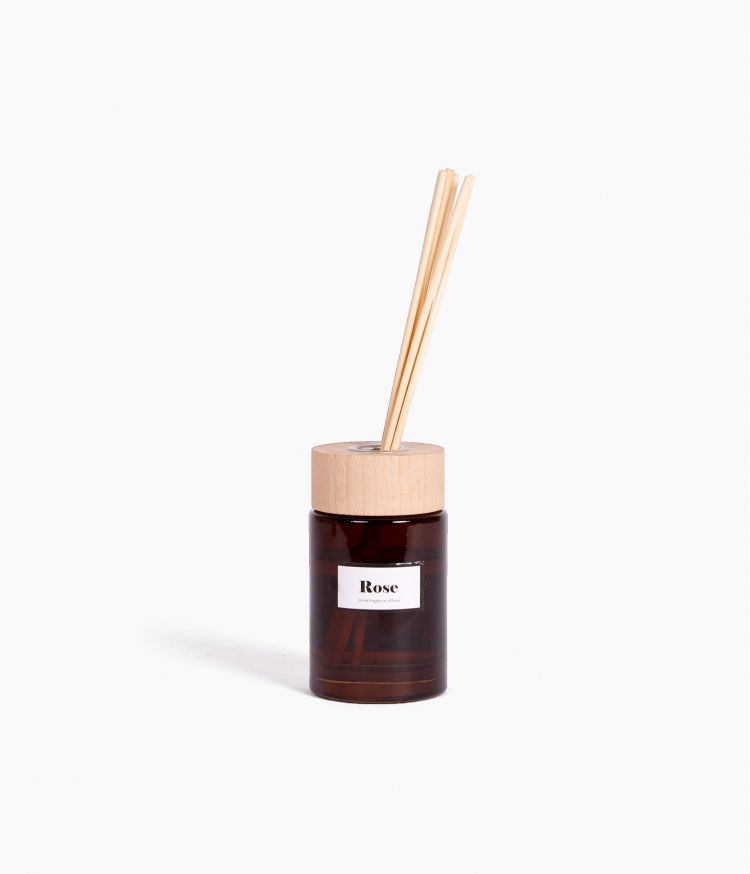 diffuseur sticks rose 100ml