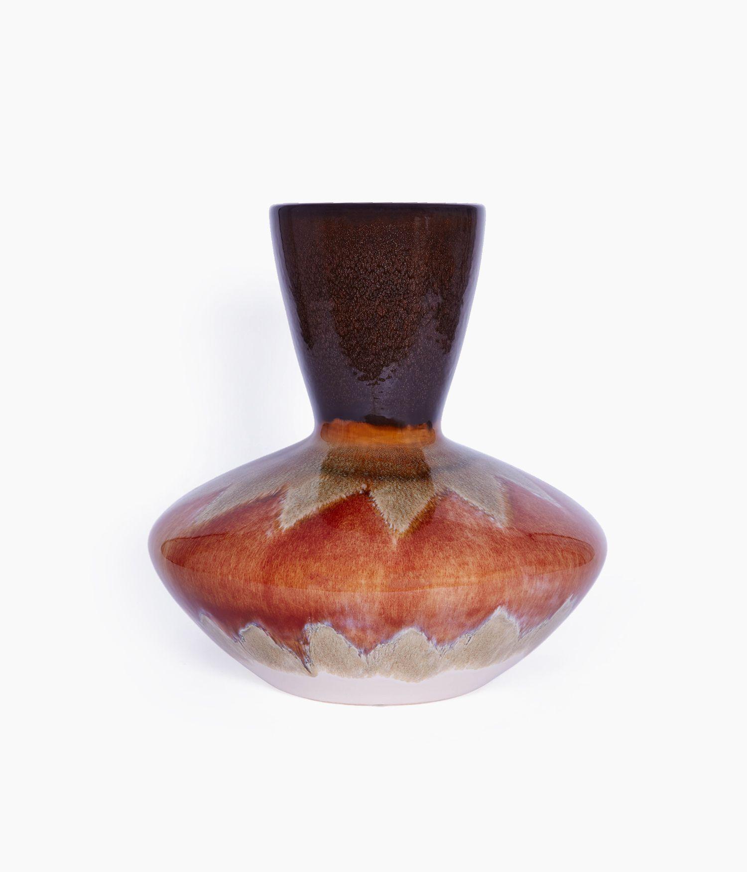 vase 32*32*h33cm orange