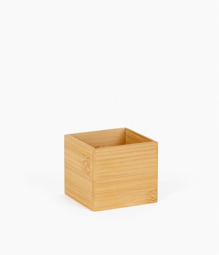 organizer carré bambou pm
