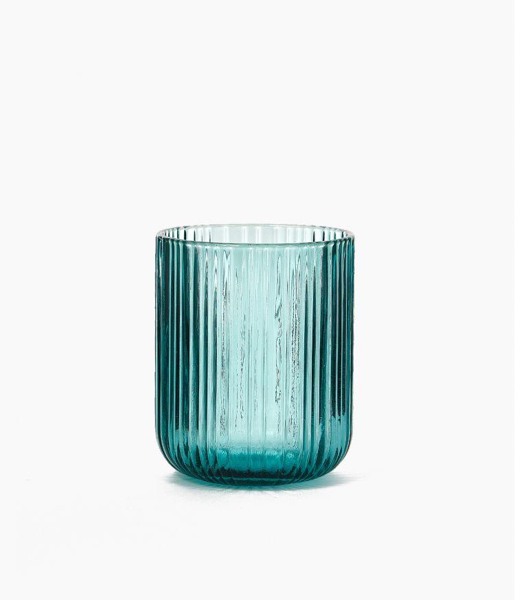 gobelet 7.5*9cm bleu