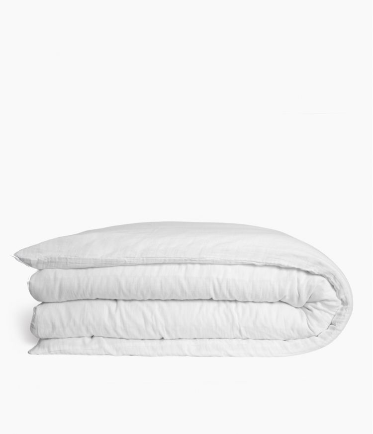 housse couette 260*240 blanc
