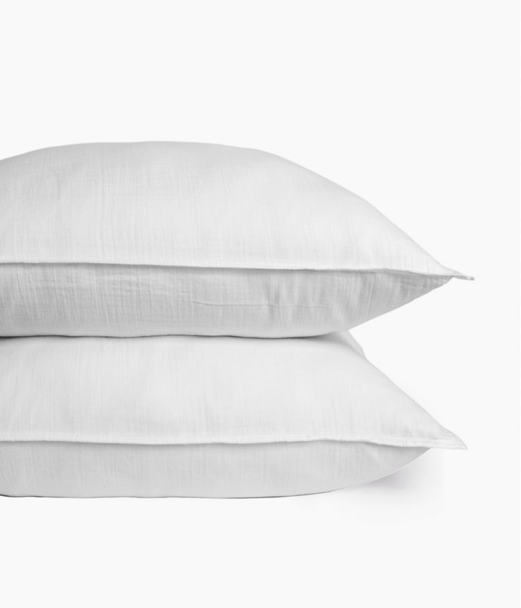 taie oreiller 65*65 blanc