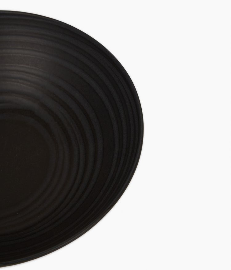 saladier 24cm moon noir