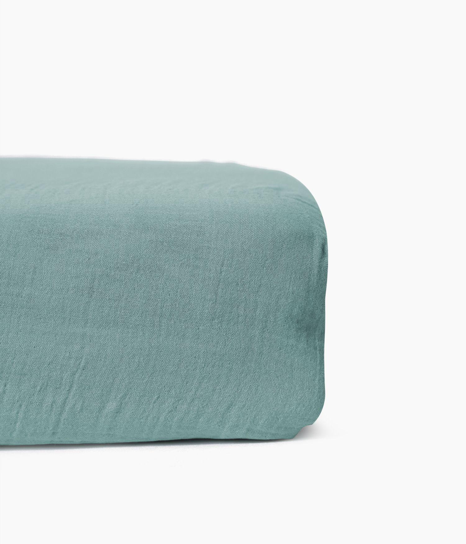 drap housse 160*200 celadon