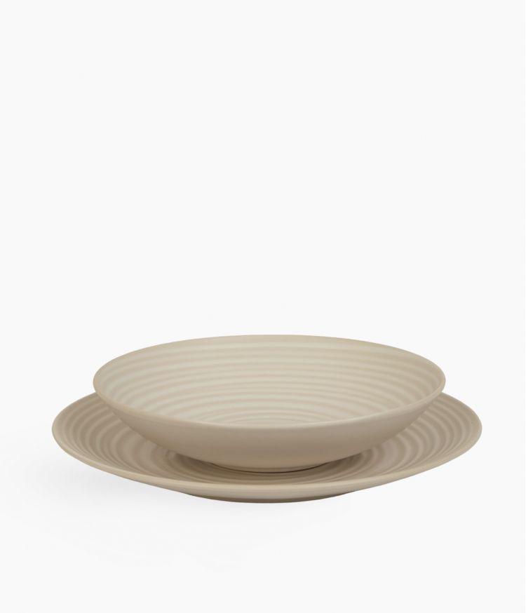 assiette plate 27cm blanc