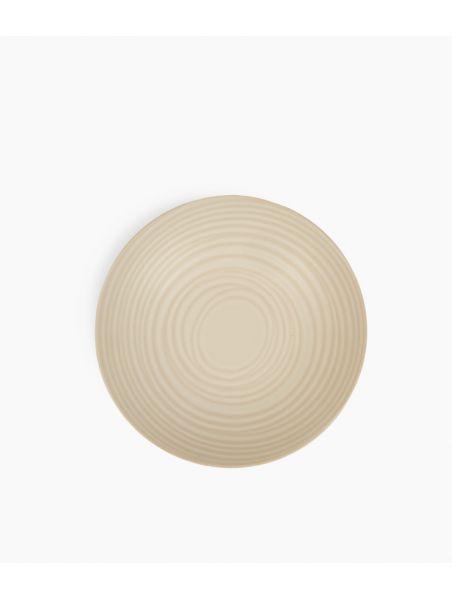 assiette calotte 22cm blanc