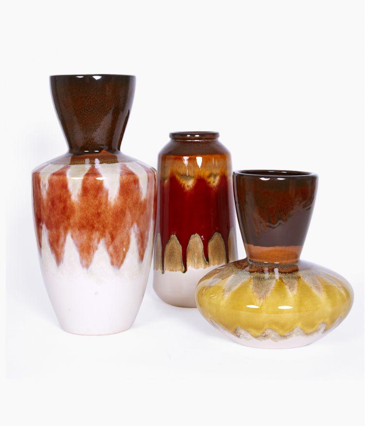 vase 18*18*h37cm orange