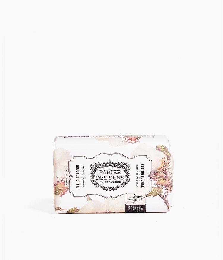 savon fleur de coton 200g