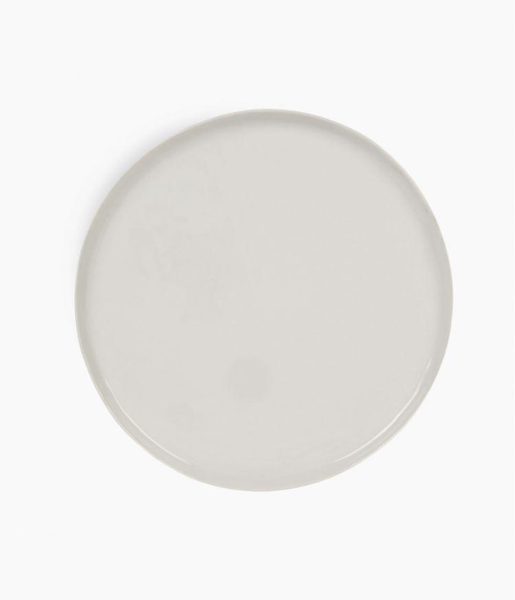 Grande assiette de présentation en Porcelaine Blanche