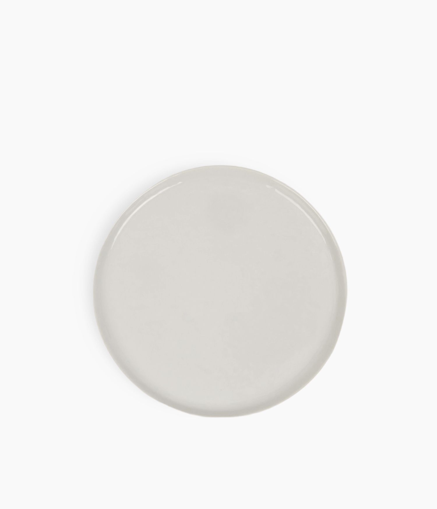 Assiette à dessert en Porcelaine blanche