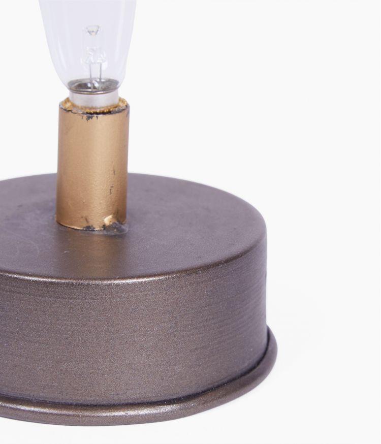 Petite lampe LED Noir