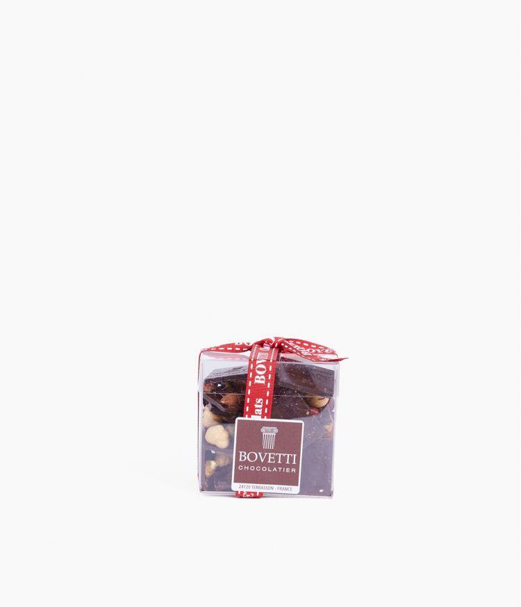 Mendiants chocolat noir Noel 200g