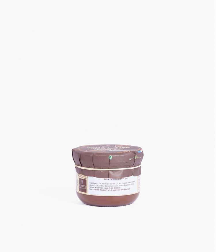 Pate à tartiner Noisettes Chocolat noir 350g