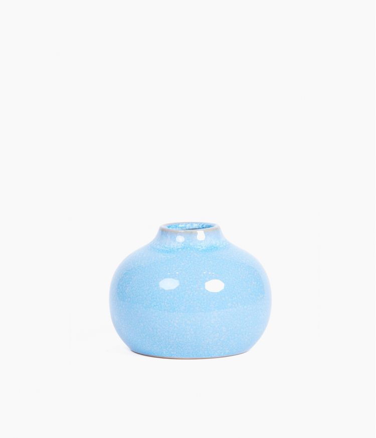 Petit vase en Grès Bleu