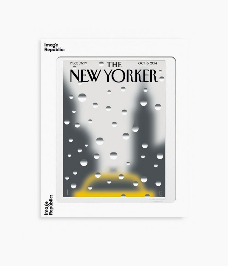 affiche niemann rainy day 2014 the newyorker