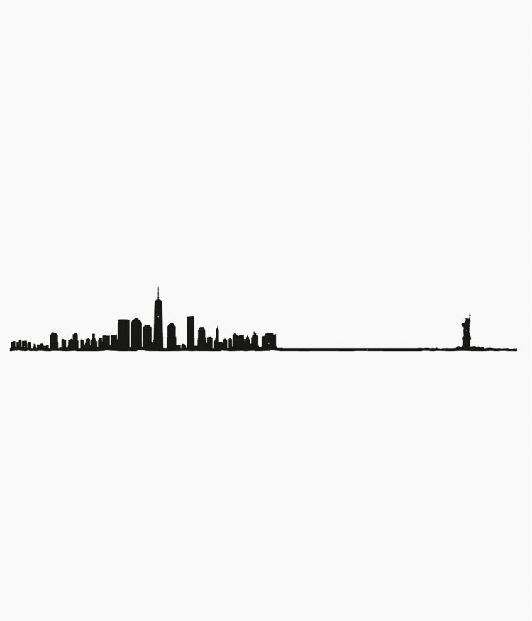 Line City - New York Noir XL