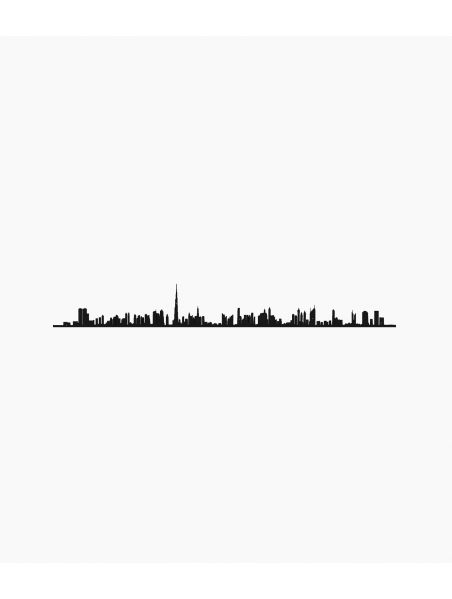 Line City - Dubaï Noir