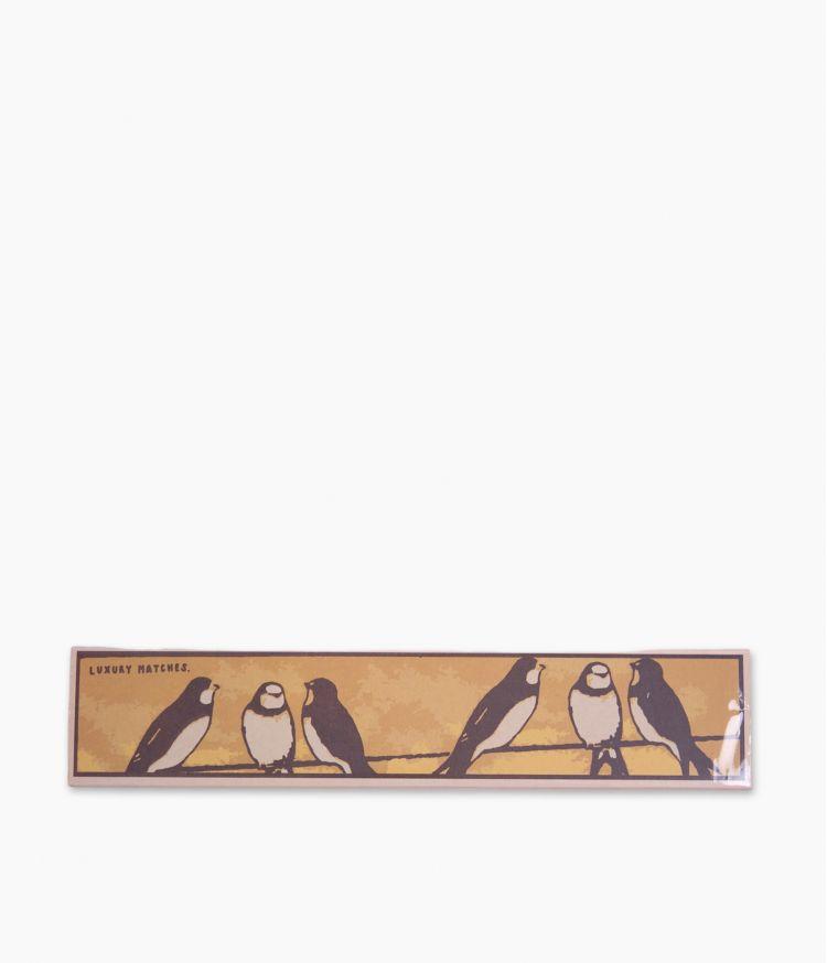 boîte d'allumettes swallows matchbox