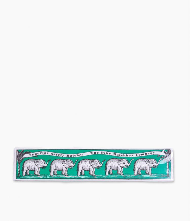 boîte d'allumettes green elephants matchbox