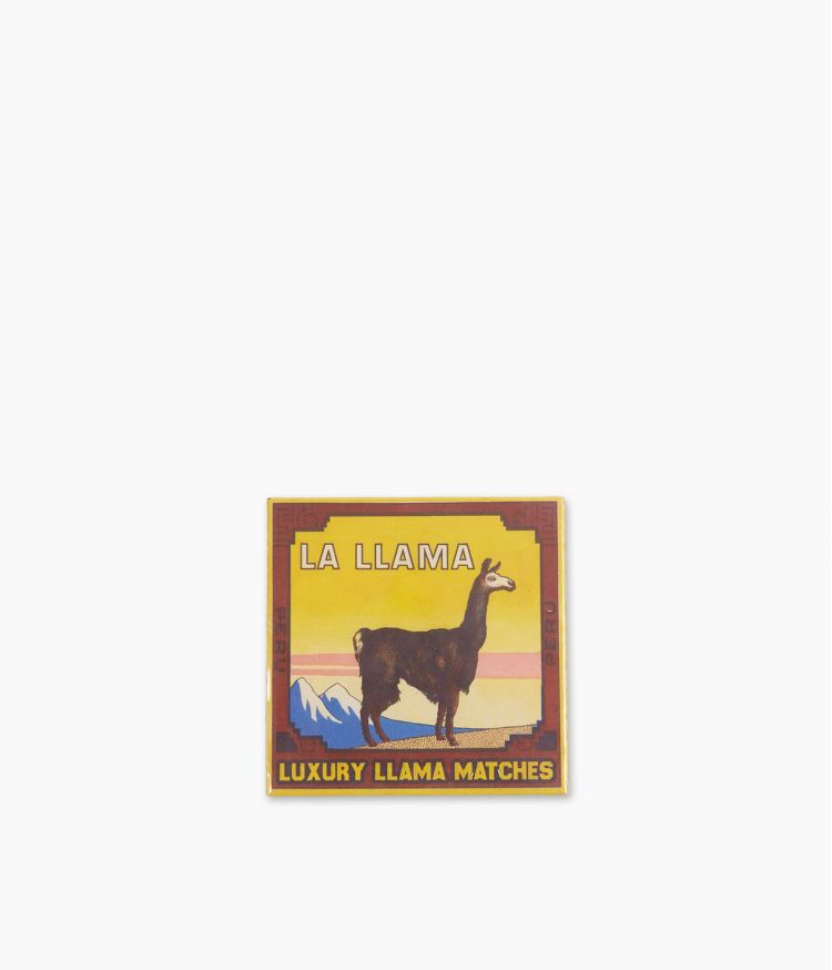 boîte d'allumettes la llama matches