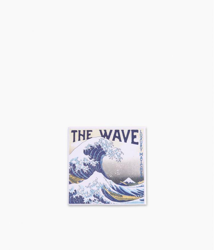 boîte d'allumettes hokusai wave matches