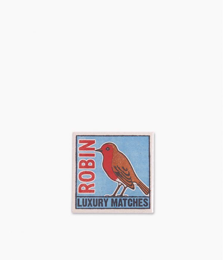 boîte d'allumettes the robin